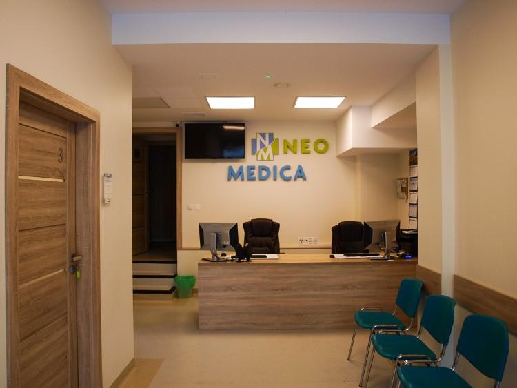 Przychodnia Neo-Medica widok wnętrza